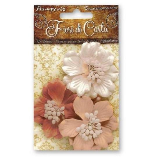 Apricot Gardenia Flowers - Stamperia