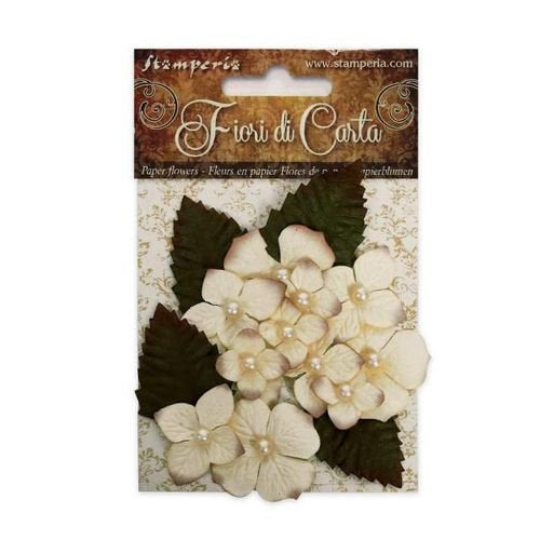 Bouquet of Ivory Flowers - Stamperia