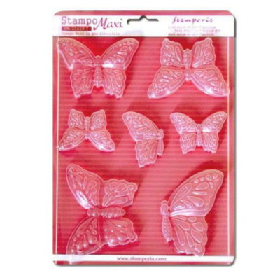 Butterflies - Soft Mould - A4 -Stamperia