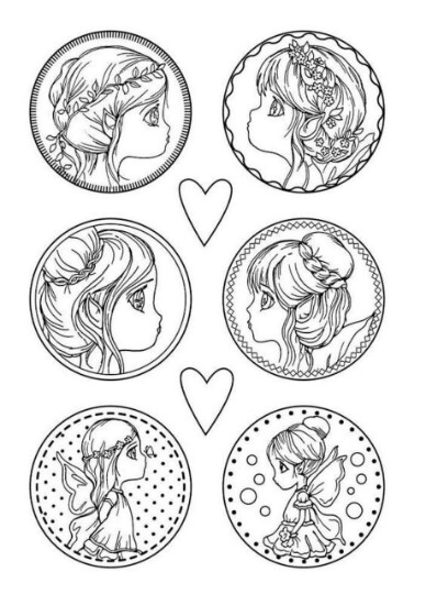 Fairies - Soft Mould - A4 -Stamperia