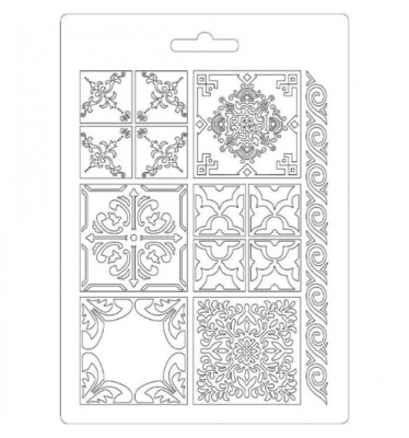 Azulejos - Soft Mould - A5 -Stamperia