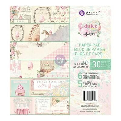 Dulce 8x8 Paper Pad - Prima Marketing