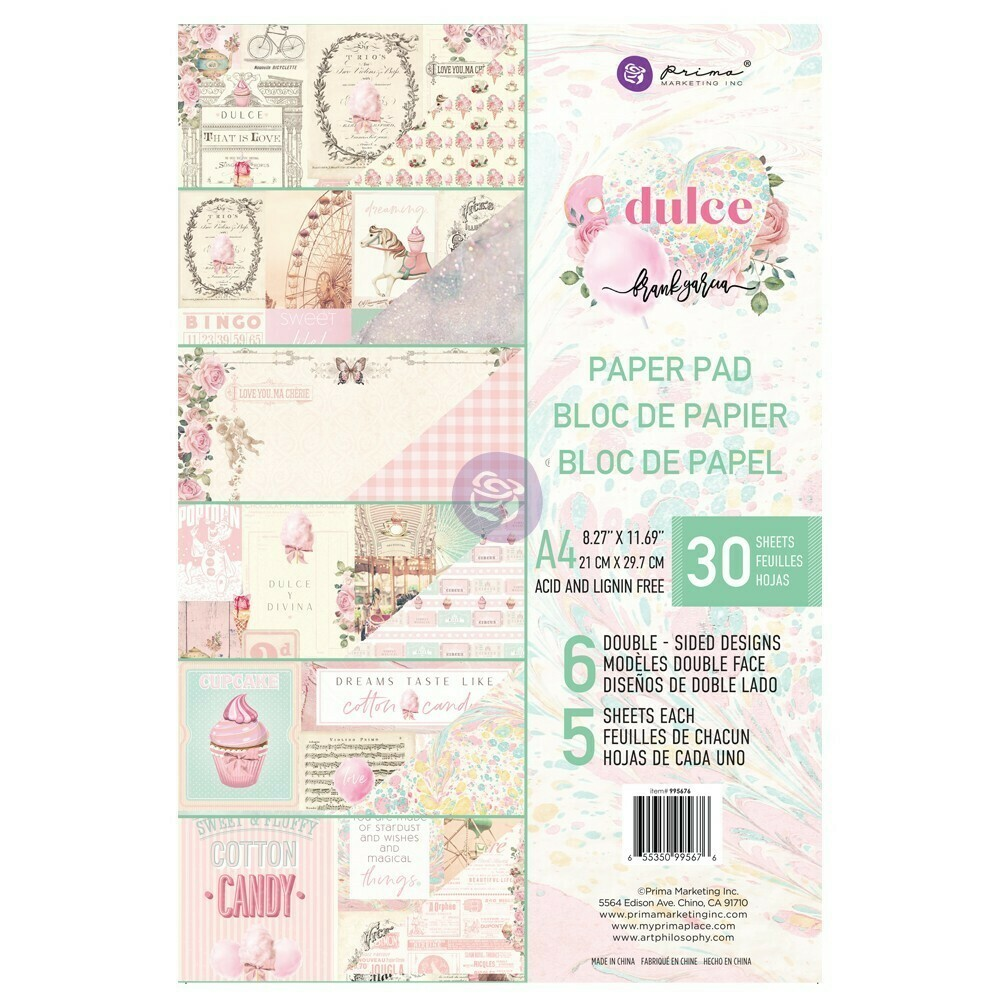 Dulce A4 Paper Pad - Prima Marketing
