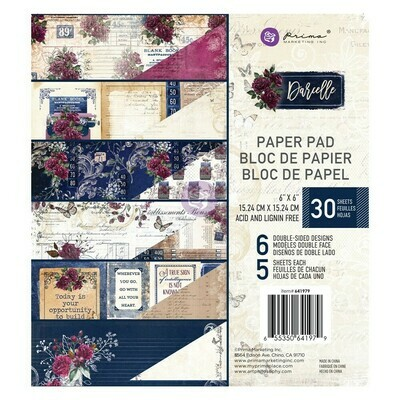 Darcelle 6x6 Paper Pad - Prima Marketing