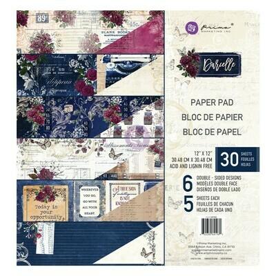 Darcelle 12x12 Paper Pad - Prima Marketing