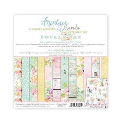 Mintay by Karola - Lovely Day - 6 x 6 Collection Pack