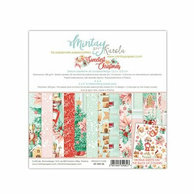 Mintay by Karola - Sweetest Christmas - 6 x 6 Collection Pack