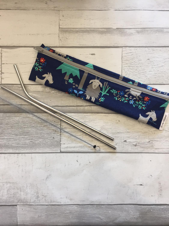 Reusable Straw/Utensil Bag