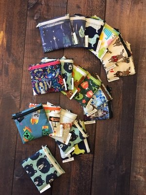 CUSTOM ORDER - Reusable Mini Snack Bag
