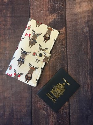CUSTOM ORDER - 4 Pocket Family Passport Holder
