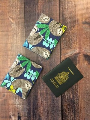 CUSTOM ORDER - 1 Pocket Passport Holder with card slots