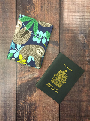 1 Pocket Passport Holder with card slots