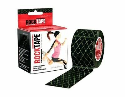 RockTape, 5см х 5м, Black Argyle