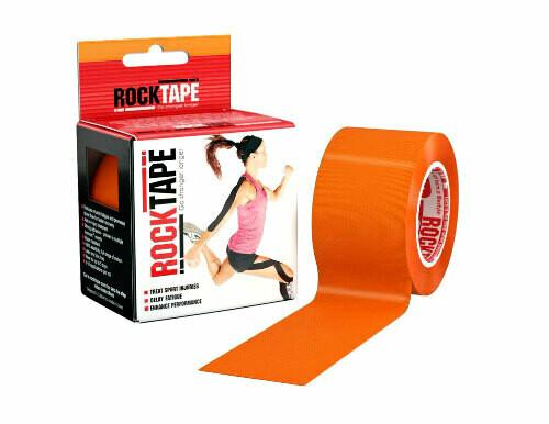 RockTape, 5см х 5м, оранжевый