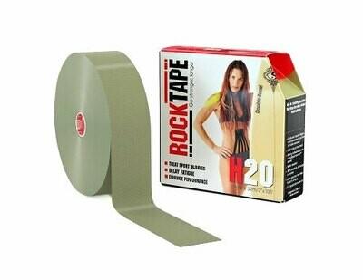RockTape H2O, 5см x 32м, олива