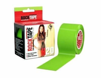 RockTape H2O, 5см х 5м, лаймо-зеленый
