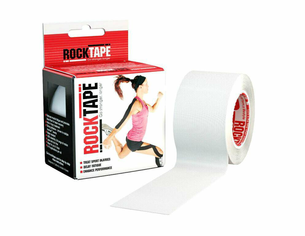 RockTape, 5см х 5м, белый
