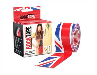 RockTape H2O, 5см х 5м, британский флаг