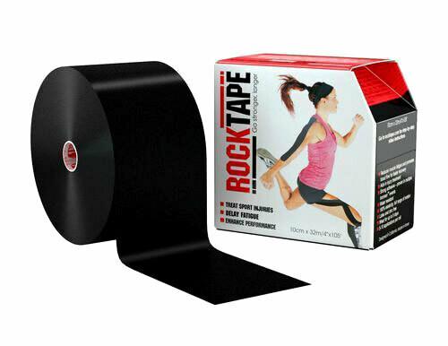 RockTape, 10см x 32м, черный