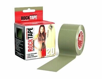RockTape H2O, 5см х 5м, олива