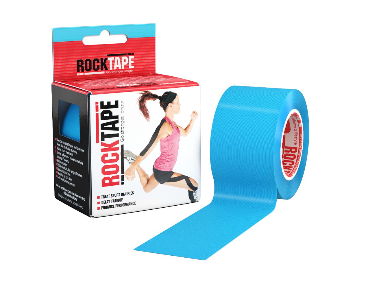 RockTape, 5см х 5м, голубой RCT100-BL-OS