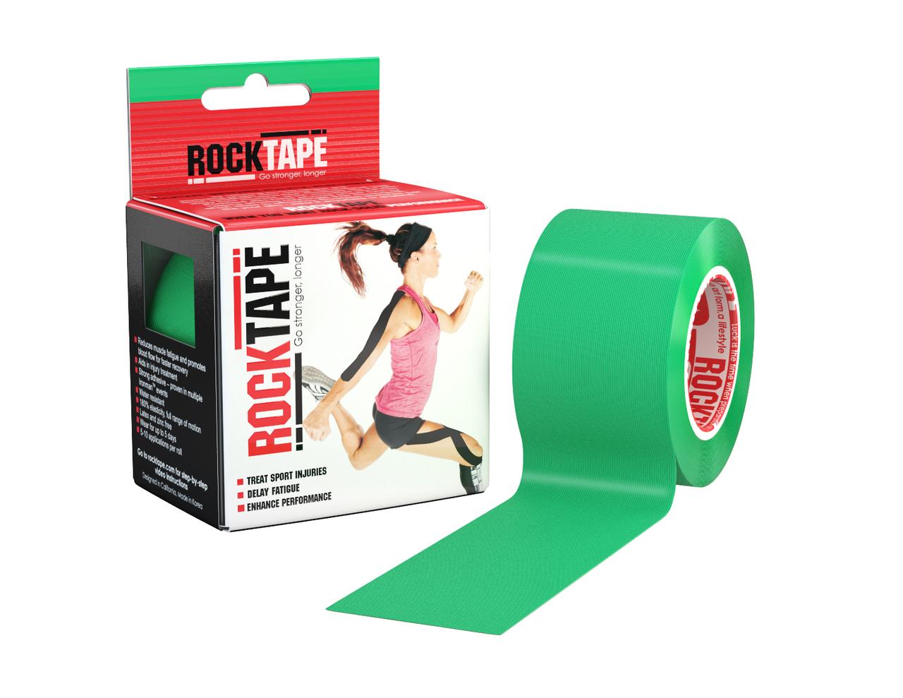 RockTape, 5см х 5м, зеленый RCT100-GN-OS