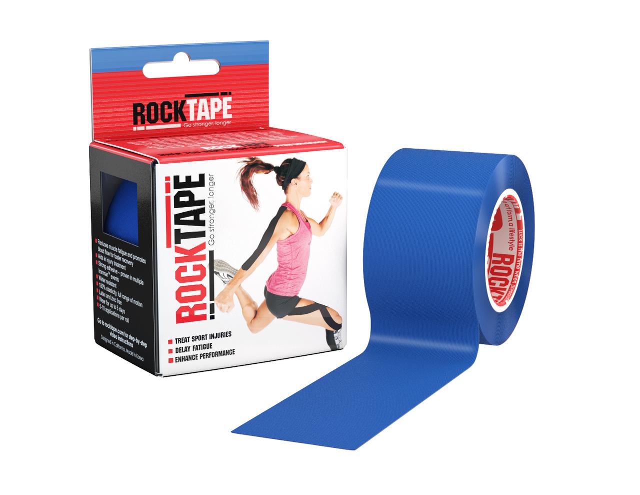 RockTape, 5см х 5м, синий RCT100-NBLU-OS