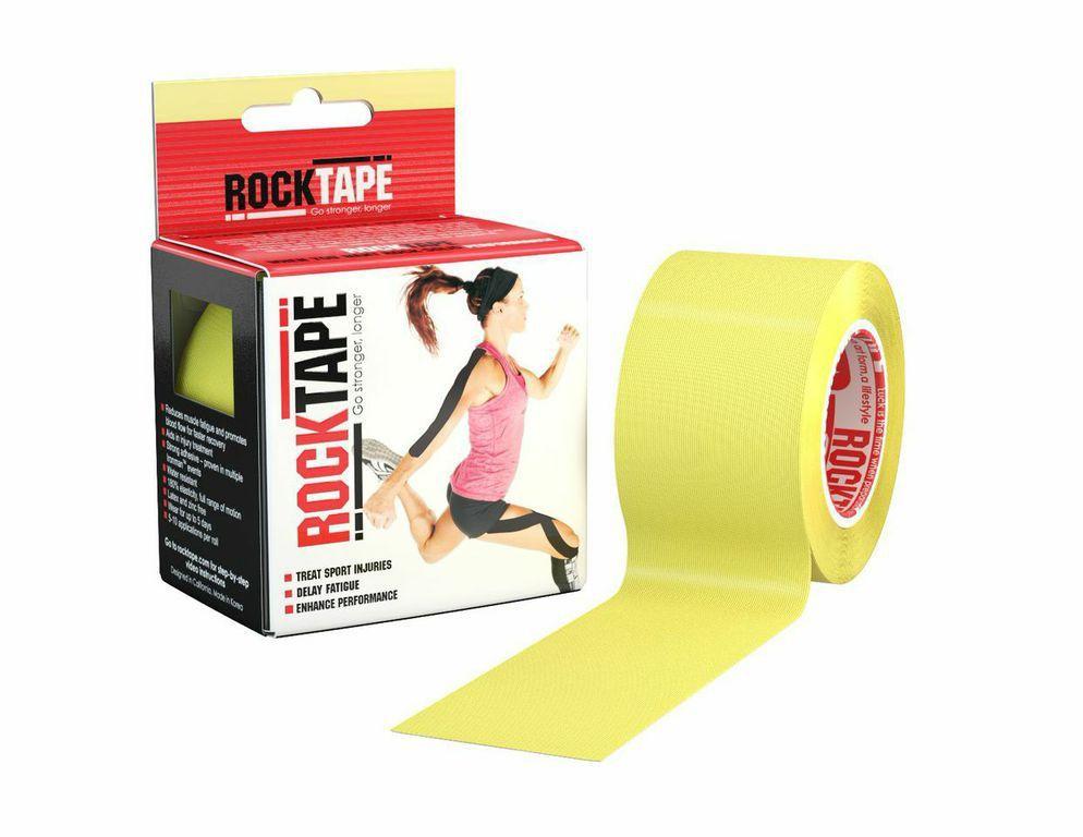 RockTape, 5см х 5м, желтый RCT100-YW-OS