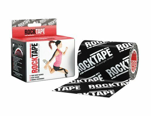 RockTape, 10см х 5м, черный лого RCT100-BKLG-MBD