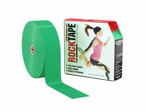 RockTape, 5см x 32м, зеленый RCT100-GR-LG