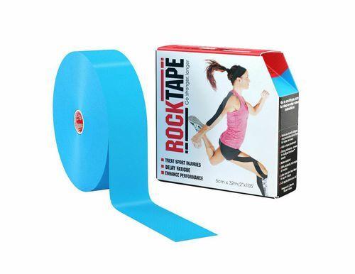 RockTape, 5см x 32м, голубой RCT100-BL-LG