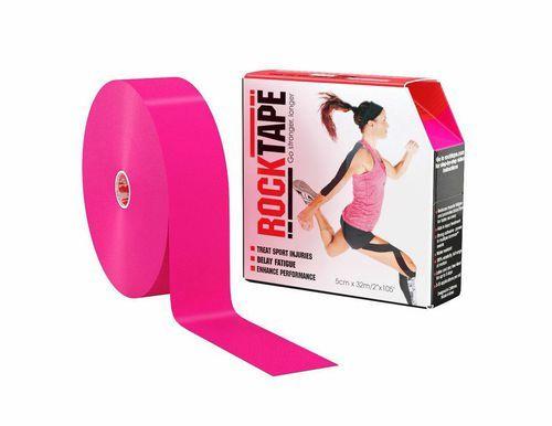 RockTape, 5см x 32м, розовый RCT100-PK-LG