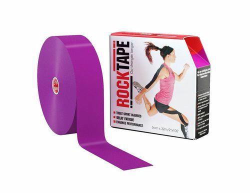 RockTape, 5см x 32м, фиолетовый
