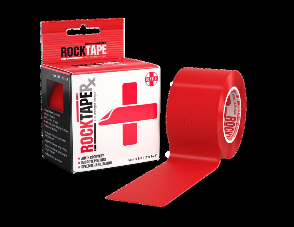 RockTapeRx, 5см x 5м, красный