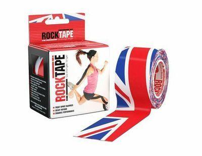 RockTape, 5см х 5м, британский флаг