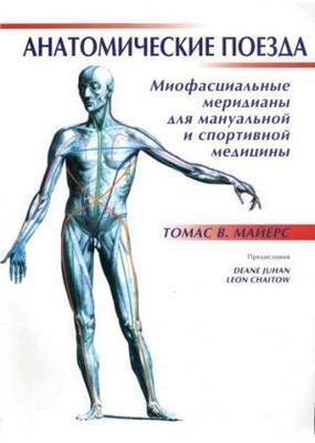 Книга, Анатомические поезда: миофасциальные меридианы для мануальной и спортивной медицины, Томас В. Майерс