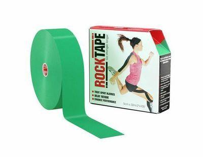 RockTape, 5см x 32м, зеленый