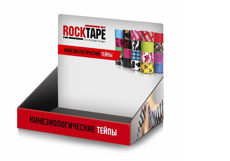 RockTape, стойка настольная, Counter Display, 24х23х8,5см