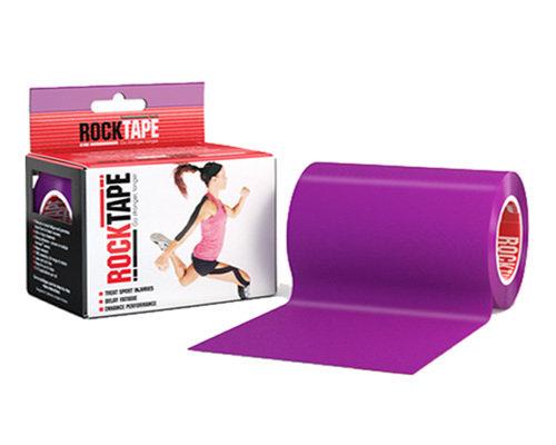 RockTape, 10см x 5м, фиолетовый RCT100-PU-MBD