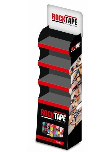 Rocktape Стойка напольная Floor Display, 47х26х168см (мерчендайзер) RT-MRC-FD