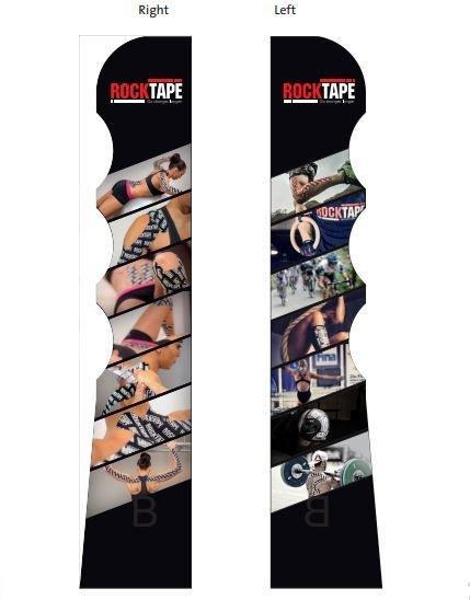 Rocktape Стойка напольная Floor Display, 47х26х168см (мерчендайзер)