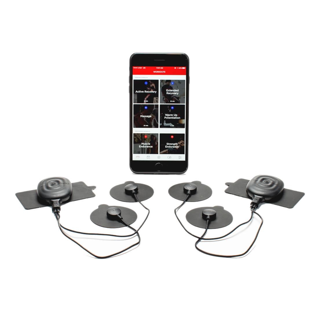 Двухзонный миостимулятор, PowerDot DUO, черный