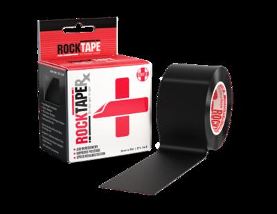 RockTapeRx, 5см x 5м, черный