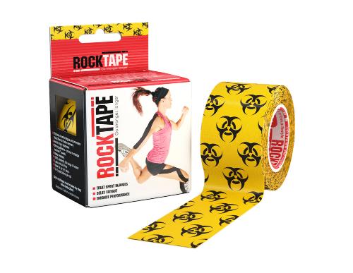 RockTape, 5см х 5м, Biohazard RCT100-BIO-OS
