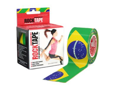 RockTape, 5см х 5м, Brazil Flag