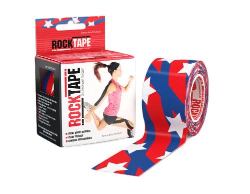 RockTape, 5см х 5м, Stars and Stripes