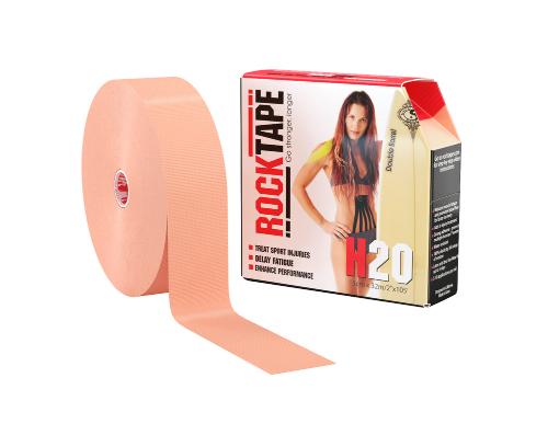 RockTape H2O, 5см x 32м, телесный