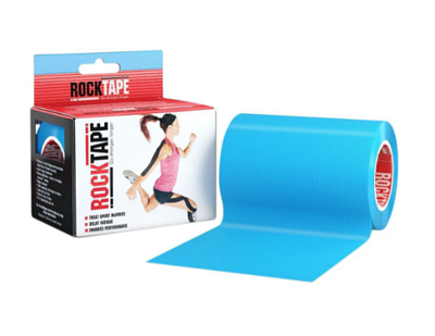 RockTape, 10см х 5м, голубой