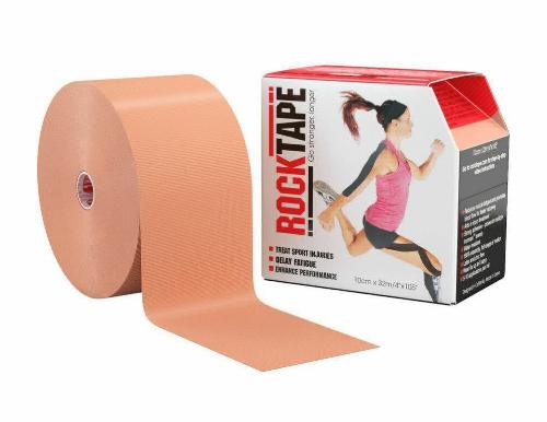 RockTape, 10см x 32м, телесный RCT100-BG-BD