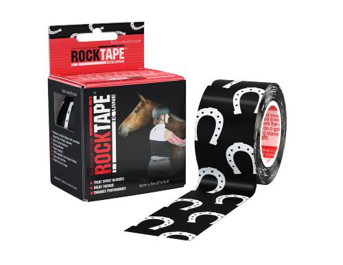 RockTape, Equine, 5см x 5м, подкова (для лошадей) RCT100R-HS-EQOS